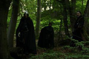 Die schwarzen Ritter haben die Söhne des Hübner gefangen